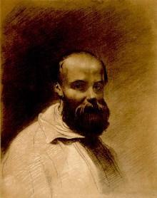 Автопортрет Шевченка 1851 рік