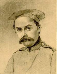 Шевченко солдат - автопортрет