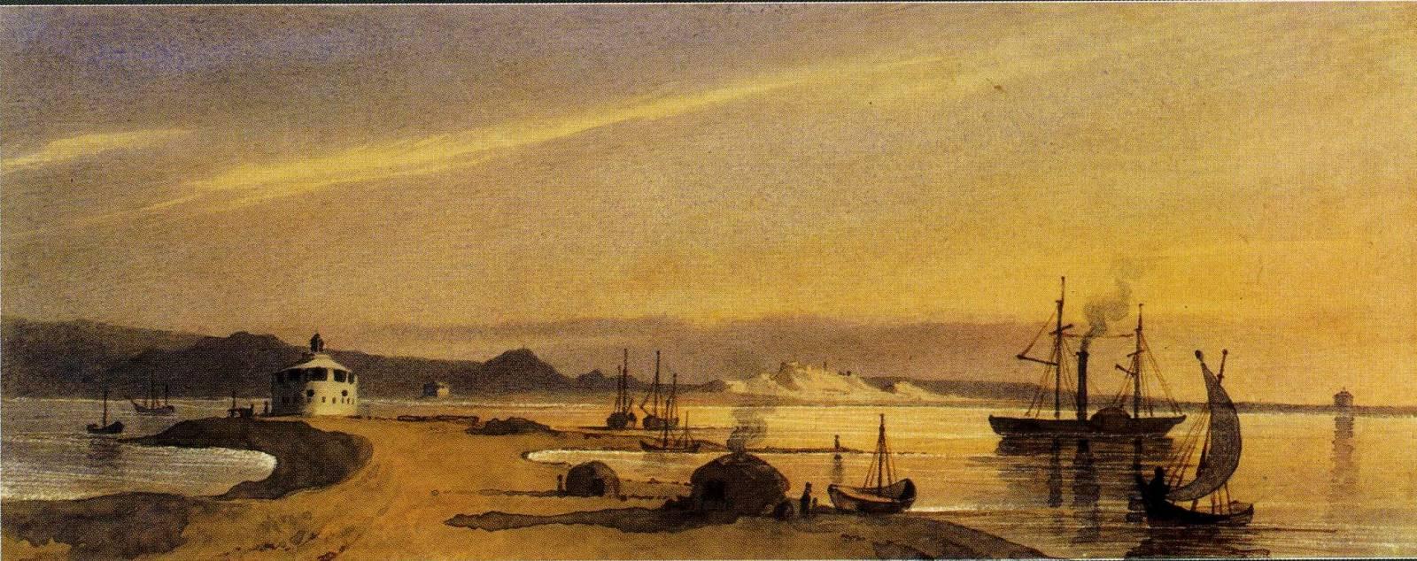 Новопетровське укріплення з моря